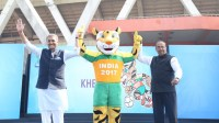 Mascot for FIFA Under 17 World Cup India 2017