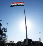 Country's tallest Tricolour hoisted at Attari border