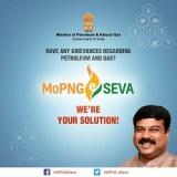Petroleum Minister launches MoPNG e Seva