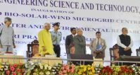 Integrated Bio-Solar-Wind Micro grid Centre and Centre for Water and Environment Research