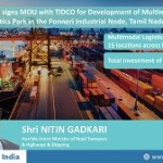 NHAI signs MoU with TIDCO for Development of Multimodal Logistics Park