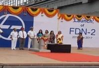 Launch of L&T Yard 55000 (Floating Dock – FDN 2)