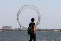 The world's largest spokeless Ferris wheel is set to open in China