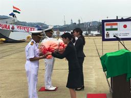 Indian Naval Ships Satpura and Kadmatt visit Sasebo, Japan