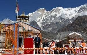 PM visits Kedarnath, lays Foundation Stone for infrastructure projects