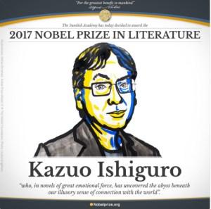 The Nobel Prize in Literature, 2017