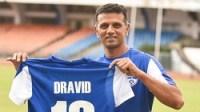 Rahul Dravid named Bengaluru FC ambassador