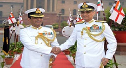 Vice Admiral Ajit Kumar P, AVSM, VSM has assumed charge as the Vice Chief of Naval Staff
