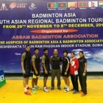 india lift first south asian regional badminton tournament 2017