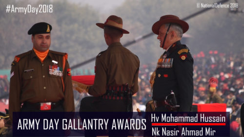 Gallantry Awards to Army on Republic Day 2018