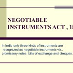 THE NEGOTIABLE INSTRUMENTS (AMENDMENT) BILL, 2017