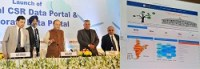 Arun Jaitley, Union Finance and Corporate Affairs minister, launches National CSR Data Portal & Corporate Data Portal in Delh