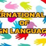International Day of Sign Language