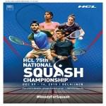HCL 75th National Squash Championship 2018
