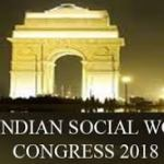 The 6th Indian Social Work Congress was held in New Delhi