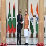 President of the Republic of Maldives to India