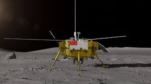 China landed robotic spacecraft to the Moon