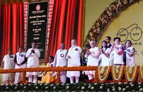 PM modi launches several development project in Haryana