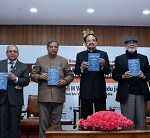 Shri M Venkaiah Naidu launches Dr H Chaturvedi's Book on Quality, Accreditation & Ranking