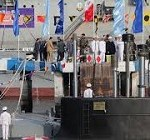 Iran's first semi heavy missile equipped submarine unveiled