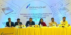 India's first indigenous 4G-5G semiconductor chips unveiled by signal chip