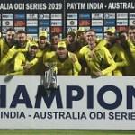 India Australia ODI Series