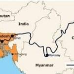 Belt and Road Initiative drop economic corridor project