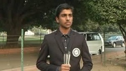 India's Arjun Bhati wins Junior World Golf Championship