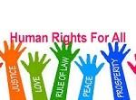 The Protection of Human Rights (Amendment) Bill, 2019