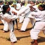 self defence training to girl
