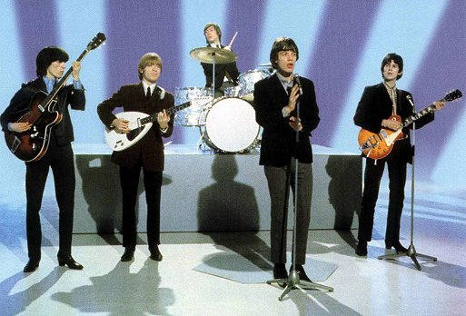 The Rolling Stones (from left):  Bill Wyman, Brian Jones, Charlie Watts, Mick Jagger, Keith Richards