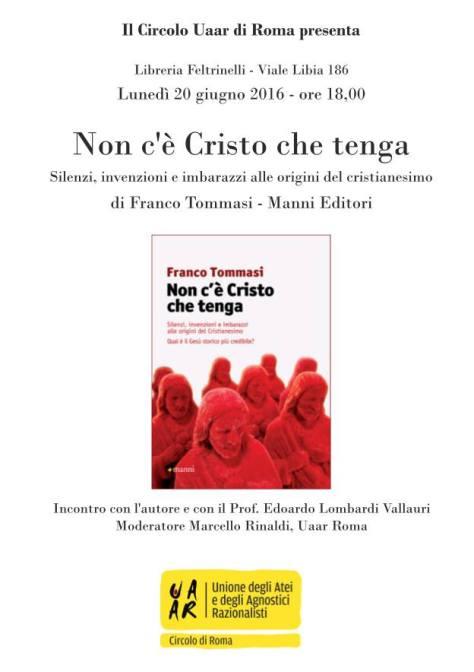 locandina NCCCT Roma