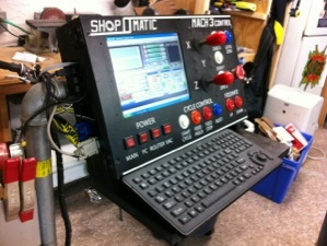 Dedicated MACH 3 CNC Control Panel