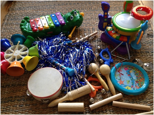 Benefits Musical Toys : Presents for young children with cerebral palsy
