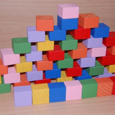 Set of 50 x Blocks