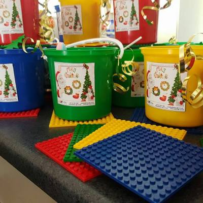 Christmas Party Buckets