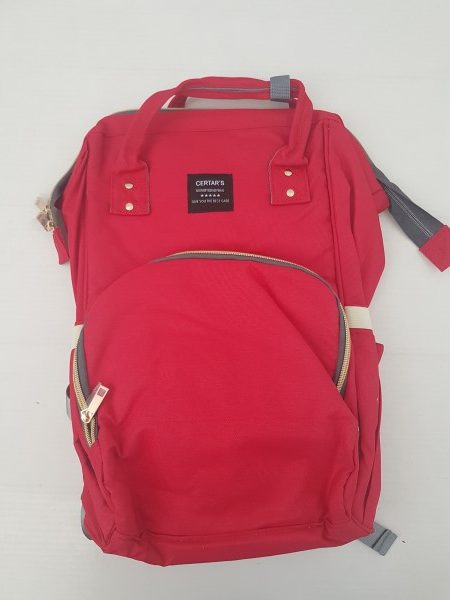 Backpack baby bag - RED (1)