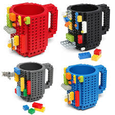 Build on Brick Mug – Blue