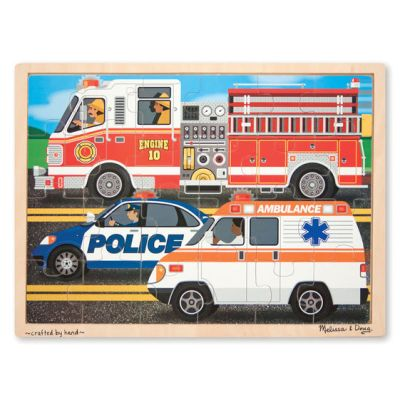 To the Rescue Wooden Jigsaw Puzzle
