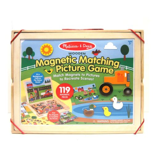 Wooden Magnetic Matching