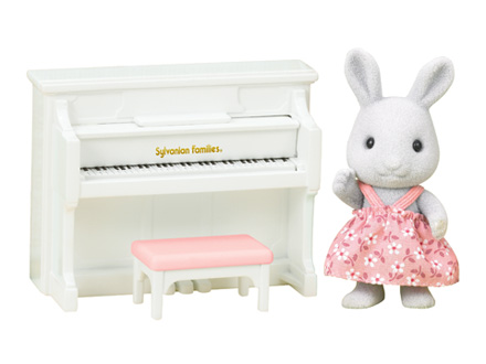 Rabbit Sister with Piano Set