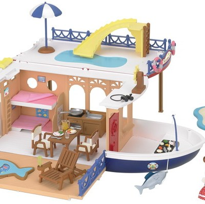 Seaside Cruiser House Boat