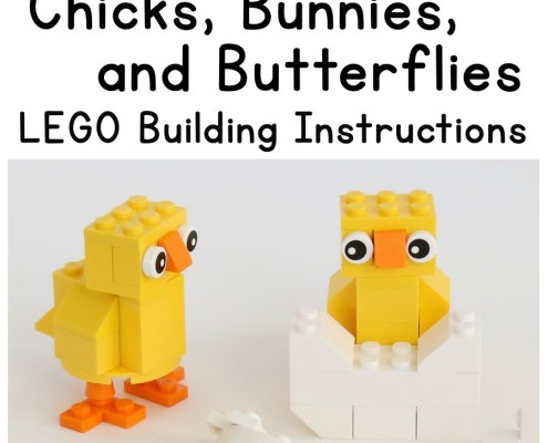 Spring is finally here, and we've got some new LEGO® building ideas to go with the new season! Build some adorable bunnies, the cutest chicks, and colorful butterflies. Then find somewhere fun to display them!