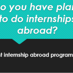 Summer Internships – Find Undergraduate Student Placements Abroad
