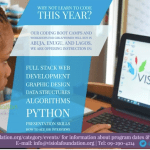 5-Week Coding Boot Camp for Girls – Apply Now