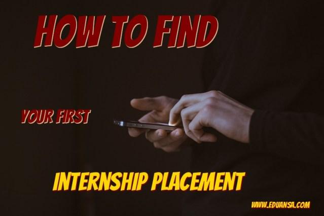 internship placement