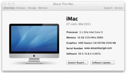 www.eduardoangel.com About This Mac