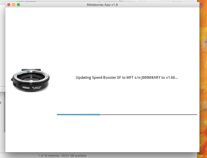 Step 03 - Metabones App v1.6
