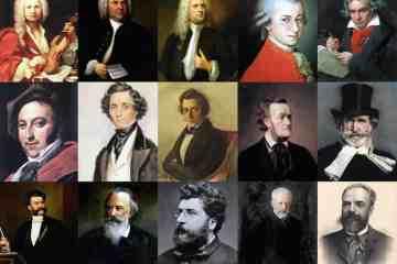 Los grandes compositores de todos los tiempos no necesitan arreglos musicales