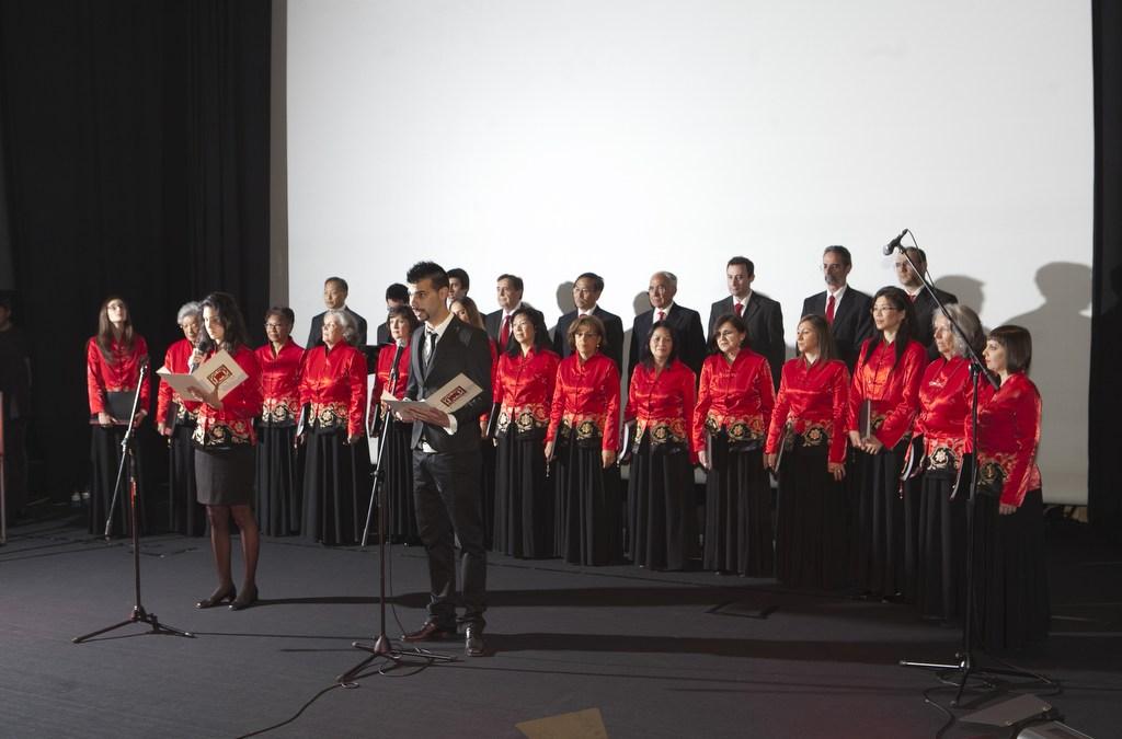 Coro Mu Hi Lua actua no Concelho de Estado em Arcos de Valdevez